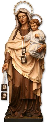 Statua della Madonna del Carmine