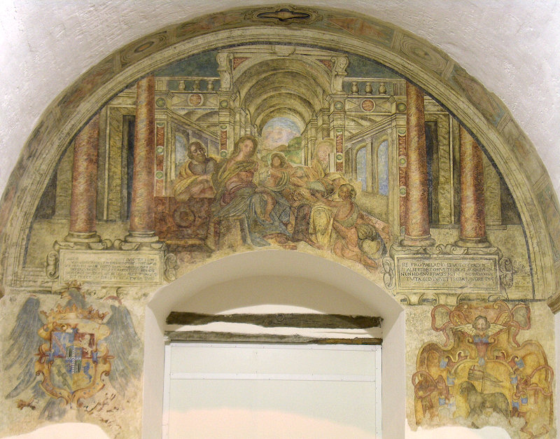 Affresco di Sant'Anna