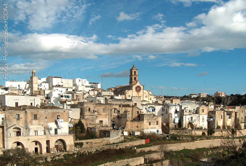 Panoramica della città di Laterza