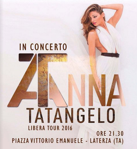 ANNA TATANGELO in concerto
